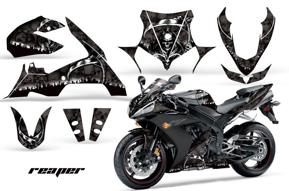 エーエムアール ステッカー・デカール AMR グラフィックデカール(スポーツバイクキット) グラフィックカラー:グリーン YZF-R1