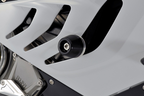 AGRAS アグラス ガード・スライダー レーシングスライダー ジュラコンカラー:ホワイト (ロゴ有) S1000RR