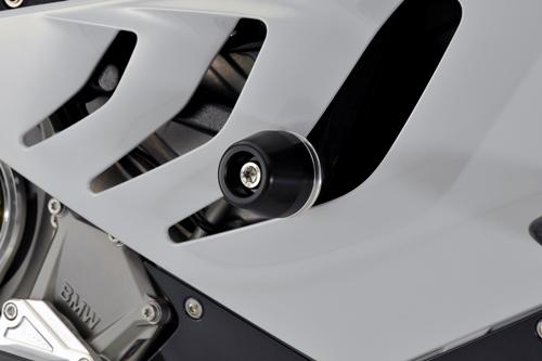 AGRAS アグラス ガード・スライダー レーシングスライダー ジュラコンカラー:ブラック (ロゴ無) S1000RR