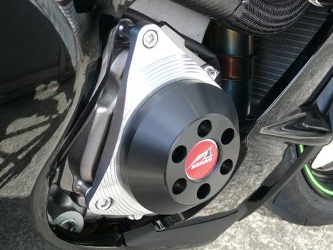 AGRAS アグラス ガード・スライダー レーシングスライダー 4点セット C ジュラコンカラー:ホワイト (ロゴ有) ZX-10R
