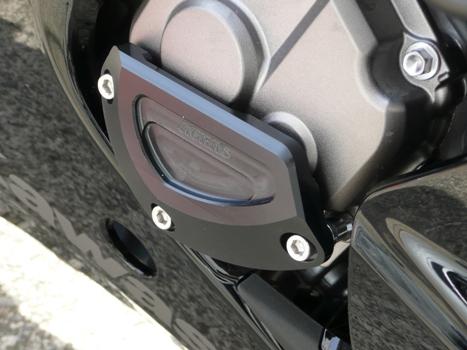 AGRAS アグラス ガード・スライダー レーシングスライダー 4点セット B ジュラコンカラー:ブラック (ロゴ無) ZX-10R