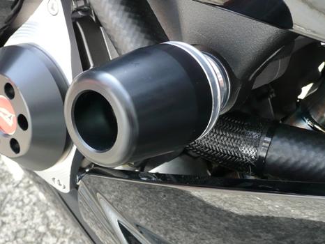 AGRAS アグラス ガード・スライダー レーシングスライダー ジュラコンカラー:ホワイト (ロゴ無) ZX-10R