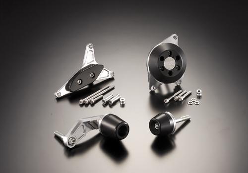 AGRAS アグラス ガード・スライダー レーシングスライダー ジュラコンカラー:ブラック (ロゴ無) GSX-R600
