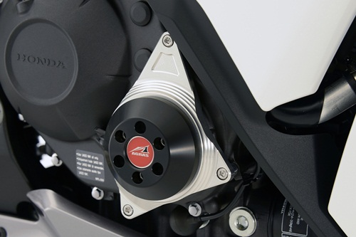 AGRAS アグラス ガード・スライダー レーシングスライダー 2点セット ジュラコンカラー:ホワイト CBR1000RR