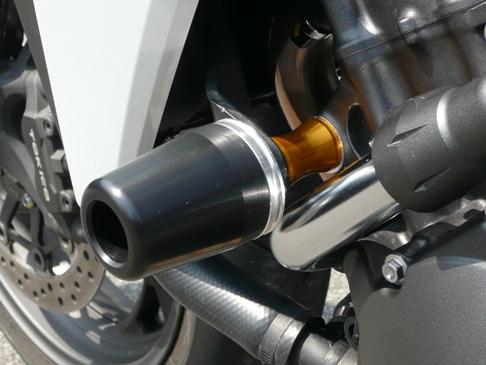 AGRAS アグラス ガード・スライダー レーシングスライダー 3点セット ジュラコンカラー:ブラック (ロゴ無) CB1000R (2018-)
