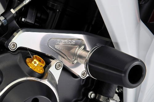 AGRAS アグラス ガード・スライダー レーシングスライダー 3点セット ジュラコンカラー:ブラック (ロゴ無) CBR250R (2011-)