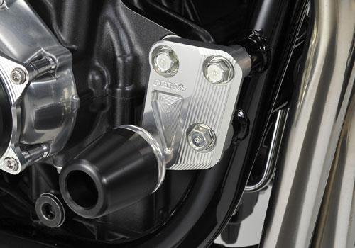 AGRAS アグラス ガード・スライダー レーシングスライダー ジュラコンカラー:ホワイト (ロゴ無) CB1100