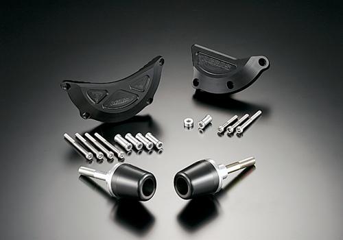 AGRAS アグラス ガード・スライダー レーシングスライダー ジュラコンカラー:ホワイト (ロゴ有) CBR600RR