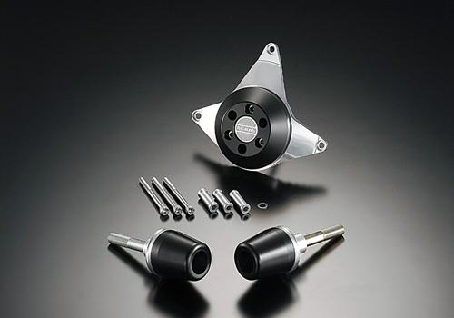 AGRAS アグラス ガード・スライダー レーシングスライダー ジュラコンカラー:ホワイト (ロゴ無) CBR600RR