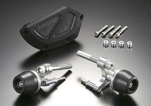 AGRAS アグラス ガード・スライダー レーシングスライダー ジュラコンカラー:ブラック (ロゴ無) CBR1000RR