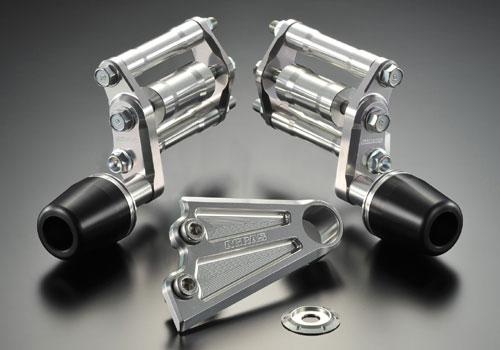 AGRAS アグラス ガード・スライダー レーシングスライダー ジュラコンカラー:ホワイト (ロゴ有) CB1300スーパーフォア