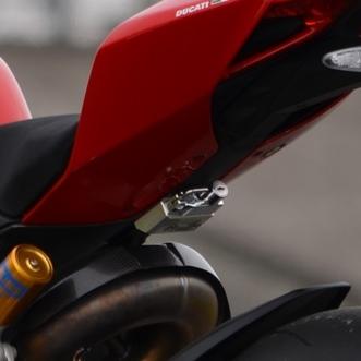 AGRAS アグラス ヘルメットホルダー アルミステー/カラー:ブラック / ヘルメットロック/カラー:ブラック Panigale [パニガーレ]