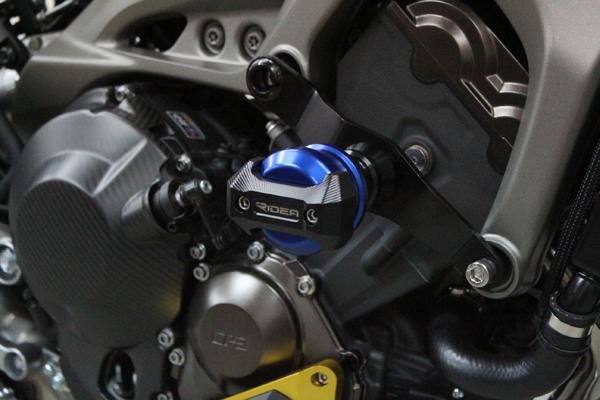 リデア ガード・スライダー RIDEA フレームスライダー スタンダードタイプ カラー:ブルー MT-09 MT-09 トレーサー XSR900