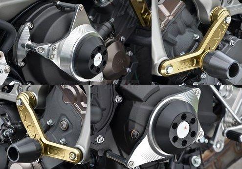 AGRAS アグラス ガード・スライダー レーシングスライダーセット ジュラコンカラー:ブラック MT-09