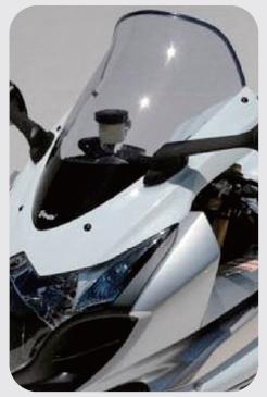 【ポイント5倍開催中!!】【クーポンが使える!】 ERMAX アルマックス Bulles [ブルズ] スクリーン スタンダードタイプ カラー:グレークリア GSX-R1000R 09-15