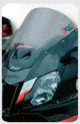 ERMAX アルマックス Aeromax [エアロマックス] スクリーン エアロタイプ カラー:グレークリア RSV1000R 04-09