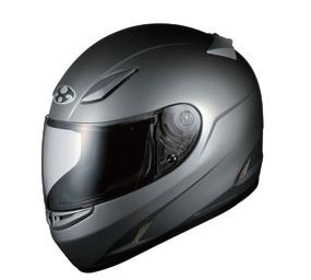 OGK KABUTO オージーケーカブト フルフェイスヘルメット FF-RIII [FF-R3 エフエフ・アールスリー ガンメタ] ヘルメット サイズ:M(57-58cm)