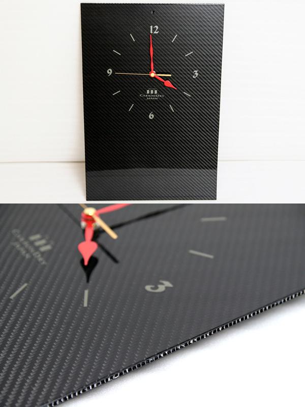 CARBON DRY カーボンドライ その他グッズ 壁掛け時計 カラー:スモークブラック(艶あり)
