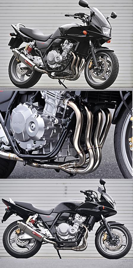 ヤマモトレーシング YAMAMOTO RACING スペックA フルエキゾーストマフラー TYPE-S CB400SF Revo