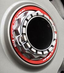 AELLA アエラ ホイール関連パーツ チタンナット&アルミテーパーコーンセット(リアアクスル) カラー:ブラック
