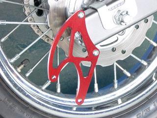 K&T ケイアンドティー メンテナンススタンド類 レーシングスタンドステー カラー:レッド CBR150
