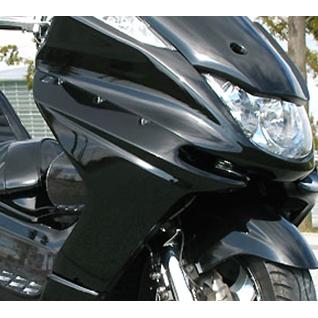 VIVIDPOWER ビビッドパワー スクーター外装 サイドカウル カラー:ブラック2 MAJESTY250[マジェスティ](SG03J)