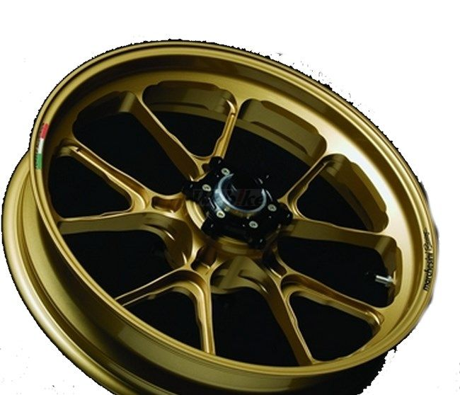 MARCHESINI マルケジーニ ホイール本体 アルミニウム鍛造ホイール M10S Kompe Evo [コンペエボ] カラー:ITALY GOLD(ゴールドメタリック) ZRX1200ダエグ