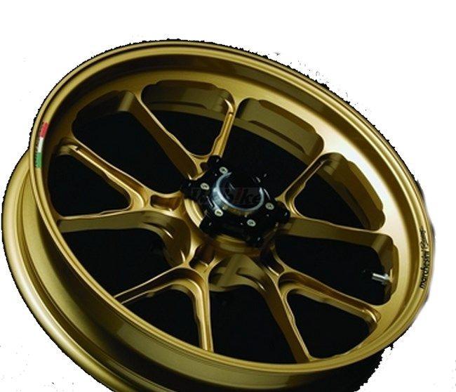 MARCHESINI マルケジーニ ホイール本体 アルミニウム鍛造ホイール M10S Kompe Evo [コンペエボ] カラー:RACING BLACK-1(艶ありブラック) ZRX1200ダエグ