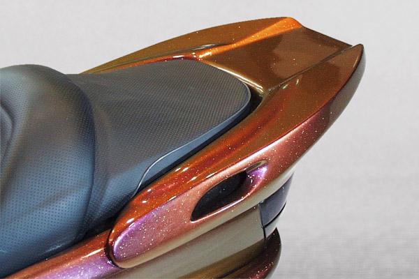 WARRIORZ ウォーリアーズ スクーター外装 マジェスティ用 リアウイング V1(バージョンワン) カラー:シルバー3 MAJESTY 250 [マジェスティ](SG03J)5GM MAJESTY 250 [マジェスティ](SG03J)5SJ