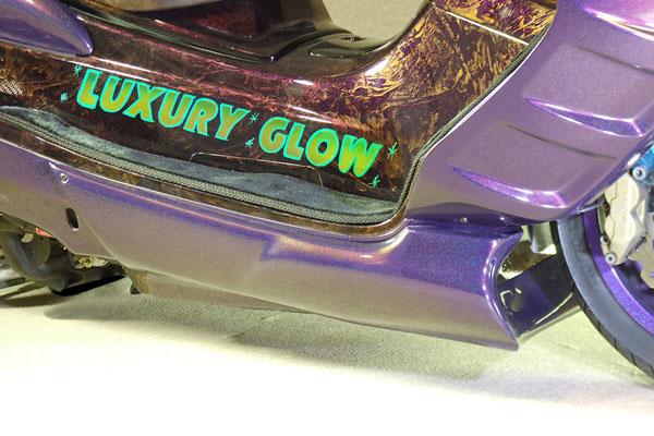 WARRIORZ ウォーリアーズ スクーター外装 マジェスティ用 アンダーカウル V2(バージョンツー) カラー:ダークパープリッシュブルー