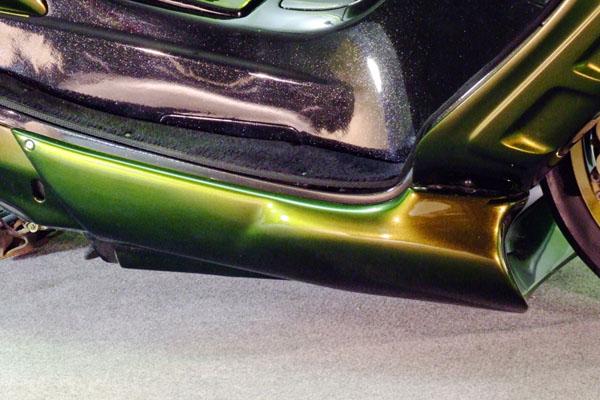 WARRIORZ ウォーリアーズ スクーター外装 マジェスティ用 アンダーカウル カラー:ブラックメタリックX MAJESTY 250 [マジェスティ](SG03J)5GM MAJESTY 250 [マジェスティ](SG03J)5SJ