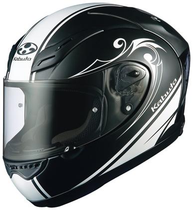 OGK KABUTO オージーケーカブト フルフェイスヘルメット FF-5V WORKS [エフエフ・ファイブブイ ワークス フラットブラック] ヘルメット サイズ:S(55-56cm)