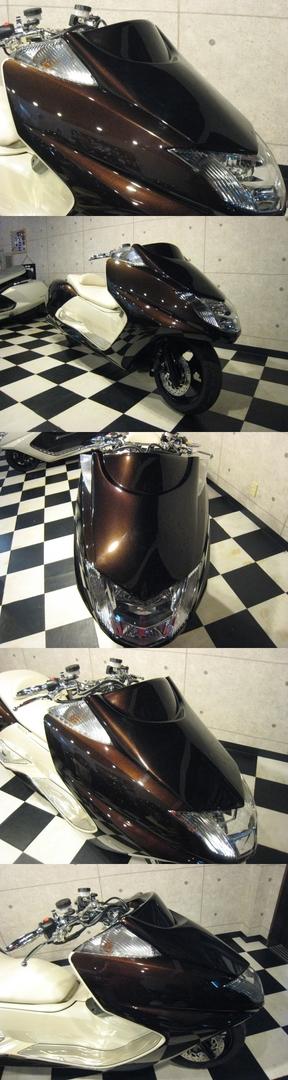 ロータス LOTAUS スクーター外装 LSチョップフェイス カラー:ブラック MAXAM [マグザム] SG17J MAXAM [マグザム] SG21J