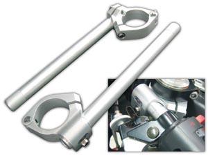 Robby Moto Engineering ロビーモトエンジニアリング アルミ セパレートハンドル エンデュランスモデル カラー:シルバー クランプ径:52mm