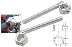 Robby Moto Engineering ロビーモトエンジニアリング アルミ セパレートハンドル スポーツモデル クランプ径:43mm