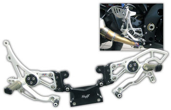 Robby Moto Engineering ロビーモトエンジニアリング バックステップ RACEモデル モデル:正チェンジ GSX-R1000