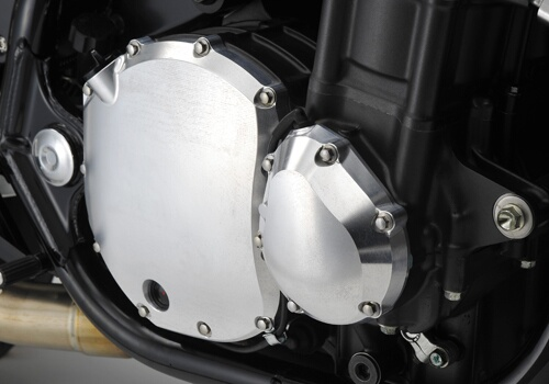 ヤマモトレーシング YAMAMOTO RACING ライトエンジンカバー カラー:シルバーアルマイト CB1300スーパーフォア