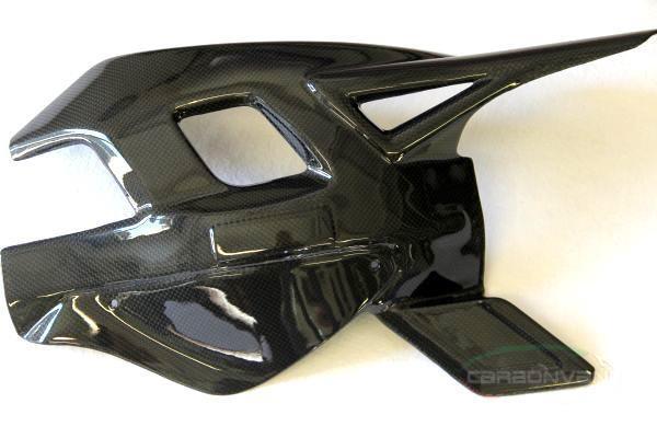 CARBONVANI カーボンバーニ その他外装関連パーツ スイングアームガード クリア塗装:ツヤ有 F4 -10