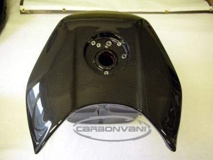 CARBONVANI カーボンバーニ タンク クリア塗装:ツヤ有 F4 -10