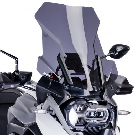 【ポイント5倍開催中!!】【クーポンが使える!】 Puig プーチ ツーリングスクリーン カラー:ブラック R1200GS