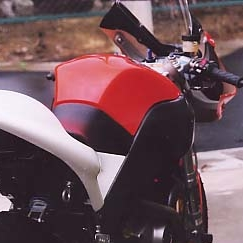 KDCサービス ケイディーシーサービス タンクカバー FIREBOLT XB12R [ファイアーボルト] FIREBOLT XB9R [ファイアーボルト]