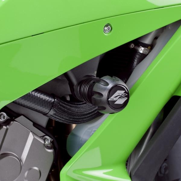 Puig プーチ ガード・スライダー クラッシュパッド R12タイプ カラー:レッド ZX-10R