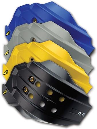 CYCRA サイクラ ガード・スライダー フルカバースキッドプレート カラー:ブルー YZF250 14-16 YZF450 14-16