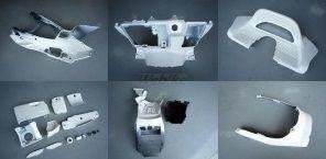 GROW ONE グロウワン フルカウル・セット外装 インナー一式 カラー:茶 マジェスティ250(SG03J)