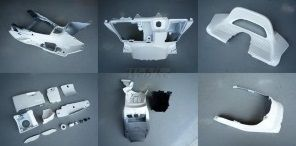 【在庫あり】GROW ONE グロウワン フルカウル・セット外装 インナー一式 カラー:白 マジェスティ250(SG03J)