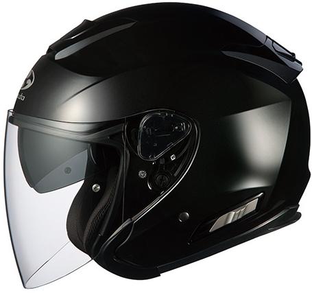 OGK KABUTO オージーケーカブト ジェットヘルメット ASAGI [アサギ ブラックメタリック] ヘルメット サイズ:S