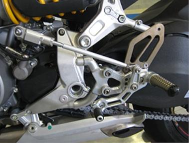 Robby Moto Engineering ロビーモトエンジニアリング バックステップ SBKモデル パニガーレ 899 パニガーレ 1199