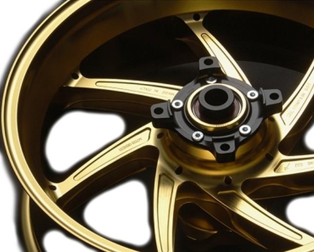 MARCHESINI マルケジーニ ホイール本体 アルミニウム鍛造ホイール M7RS Genesi [ジェネシ] カラー:ANODIZING GOLD(アルマイトゴールド) VTR1000SP