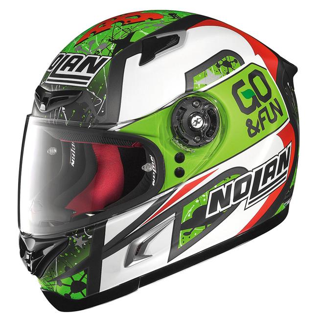 NOLAN ノーラン フルフェイスヘルメット X-LITE X802R バスティアニーニ サイズ:M(57-58)