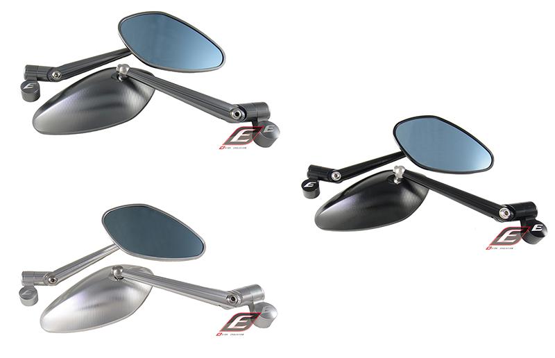 EPIC エピック ミラー類 3Dシェルミラー カラー:Titanium color